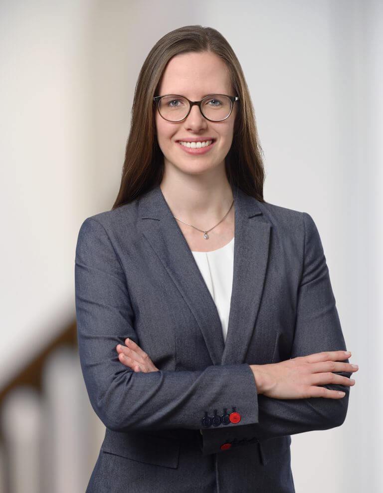Porträt von Rechtsanwältin Friederike Beck-Broichsitter